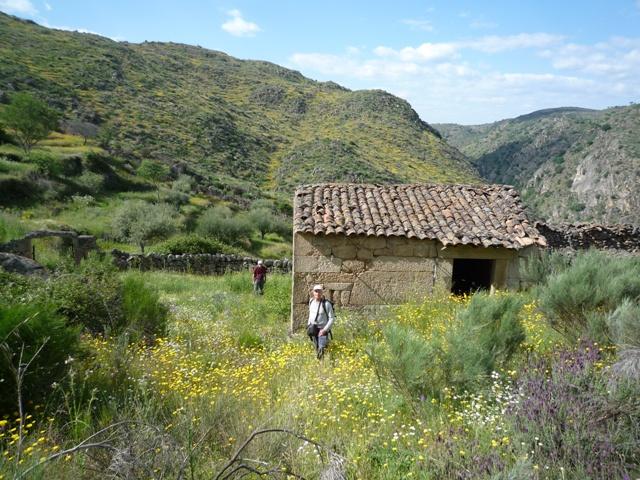 Faia Brava met verlaten huis
